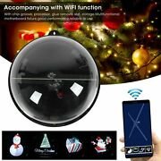 Wireless Display Projector Led Holographic Projector Ball Christmas Advertising