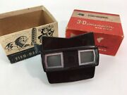 Vintage 3d View-master Model E Sawyer's With Original Box Made In Usa