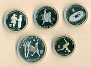 South Korea 1988 Olympic Series Proof Set Of 5 Coins