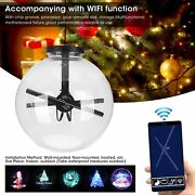 Window Wireless Projector Christmas Halloween Holographic Projection Ball Light