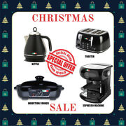Vintage Electric Kettle + Toaster + Coffee Machine + Induction Cooker Special