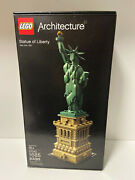 Lego Architecture 21042 Statue Of Liberty New York, Usa 2018 New