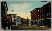 Postcard Dunnville Ont 1910 Terrace Lock And Canal St. Bridgeburg And Goderich Rpo
