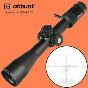 Ohhunt Guardian 4-16x44 First Focal Plane Glass Etched Reticle Rifle Scopes