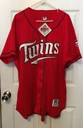 1997 Minnesota Twins Dairy Queen Russell Diamond Collection Authentic Jersey 52