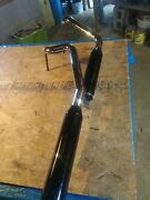 Nice Harley Davidson Softail Breakout Black And Chrome Exhaust Assembly Used