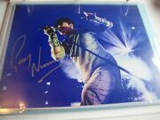 Autographed 8x10 Picture--gary Numan-musician From The 1980's-here In My Car