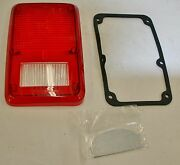 1978-93 Dodge Plymouth Van Stop Tail Turn Lens Gasket And Divider Plate Left