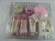 Nib Floral Breeze Cherry Blossom Bath And Body Collection 9 Pcs Gift Set Sealed