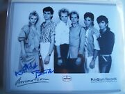 Autographed 8x10 Picture--animotion--1980's Band-signed By 2.