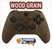 Microsoft Wood Grain Controller For Xbox Series X Or S Or Xbox 1