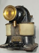 1890and039s Western Electric Bipolar Utility Motor Early Electric Antique Electrical