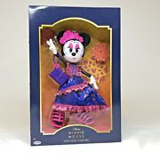 Disney Minnie Mouse Catrina Doll Day Of The Dead Collectors Edition New In Box