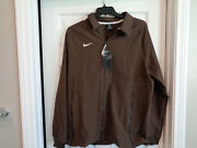 Nwt Nike Therma Midweight Jacket Brown Ci4472-249, Mens Sz Large Msrp 135
