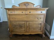 Antique Oak Buffet
