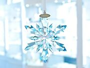 Frozen Snowflake Blue Ornament Large Limited 5286457 Brand New In Box