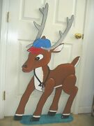 Coach 48-3/4'' X 26'' From The Rudolph Story Christmas Lawn Yard Art Decoration