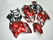 Candy Red Abs Injection Fairing Kit Fit For 2008-2016 Gsxr1300 Busa Gen2