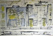 Purvis Young, Outsider Art On Paper, Exc. Cond., Pp058- 2021 Sale