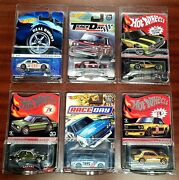 Hot Wheels Rlc Exclusive And03971 Datsun 510 Race Day/membership/track Day Lot Of 6
