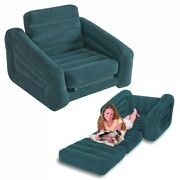 New In Box Intex Inflatable Pull-out Chair Twin Bed Mattress Sleeper