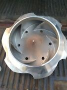 Flowserve Corp. Impeller For Reverse Vane Diameter 16pump Stainless Cd4m As Is.