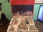 Vintage Dickens Collectables 22 Piece Lighted House Set