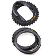 60/100-14 Front And 80/100-12 Rear Tire + Tube Motorcycle Tires For Yz65 Kx Sx65