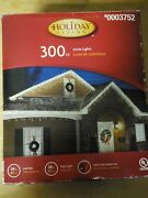 Christmas Lights-holiday Living- Icicle 300 Count- Clear - Summer Parties