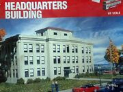 Walthersdriving Force 933-3074 Ford Headquarters Bldg. Ho Kit New In Box