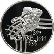 Norway 100 Kroner 1993, Proof, World Cycling Champiomships