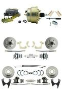 For Chevrolet Bel Air 55-57 Front Disc Brake Conversion 8 Booster-bdc0003-cpp