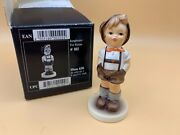 Hummel Figurine 630 Young Farmer 3 11/16in 1 Choice - Incl. Boxed - Top