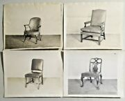 Antique 19th Century W. And J. Sloan Furniture Photos Catalog Rare Lot Of 4 --3883