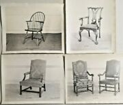 Antique 19th Century W. And J. Sloan Furniture Photos Catalog Rare Lot Of 4 --3884
