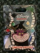Disney Pin Cheshire Cat Alice Le 400 Christmas Holiday Antler Dssh 2020 Pins Set