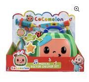 New Hard To Find Cocomelon Musical Doctor Check Up Case Set Kit Coco Melon Dr