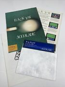 Rack Em Commodore 64 Computer Video Game Floppy Disc W/ Manual + Box Front Back