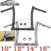 Chizeled 10 12 14 16 Hanger Handlebar For Hd Sportster Dyna Touring Softail