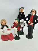 Vintage Byers Choice The Carolers Musical Caroler 1980s Lot