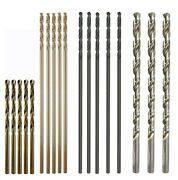 Max-craft Hss Aircraft Extension Extral Long Drill Bit Fully Ground Metal Drill