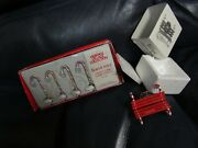 Dept 56 Candy Cane Bench And Candy Cane Lamp Post New
