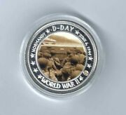 World War Ii D-day Normandy Operation Overlord Invasion Routes Medal Coin