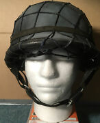 Modern Reproduction Ww2 German Army Helmet With Mesh And Chin Strap - Bike/skate