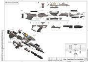 Diy Kit First Contact Phaser Rifle Type 3a - Star Trek - 3d Printed + Leds