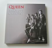 Queen And039absolute Greatestand039 Sealed 2009 Album Box Set 3 X Lp Vinyl 12 Record