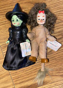 Madame Alexander Lot Of 2 Dolls From Mcdonalds Wizard Of Oz Witch Cowardly Lion
