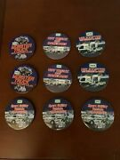 Hess Set 9 Pcs Employee Truck Advertising Buttons Pin 1990and039s And Early 2000and039s