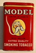 Antique Model Tobacco Empty Tin Pocket Mild Mellow From 1900s Very Rare -- 3910