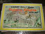 Marx Knights And Viking Castle 1968 Carry Case Type No 4635 Rare Excellent Cond